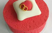торт с марципаном