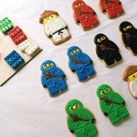 печенье ниндзяго