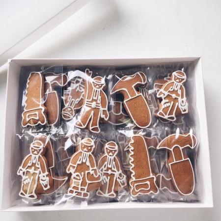 Корпоративное печенье для строителя