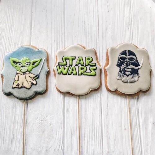 печенье звездные войны