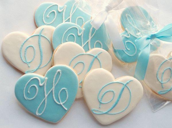 сердечка печенье