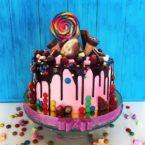 Как украсить торт: детский торт без мастики