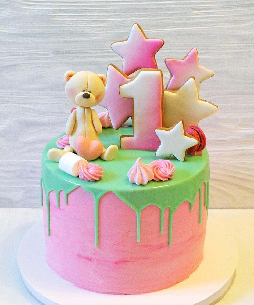 Интересные детские торты