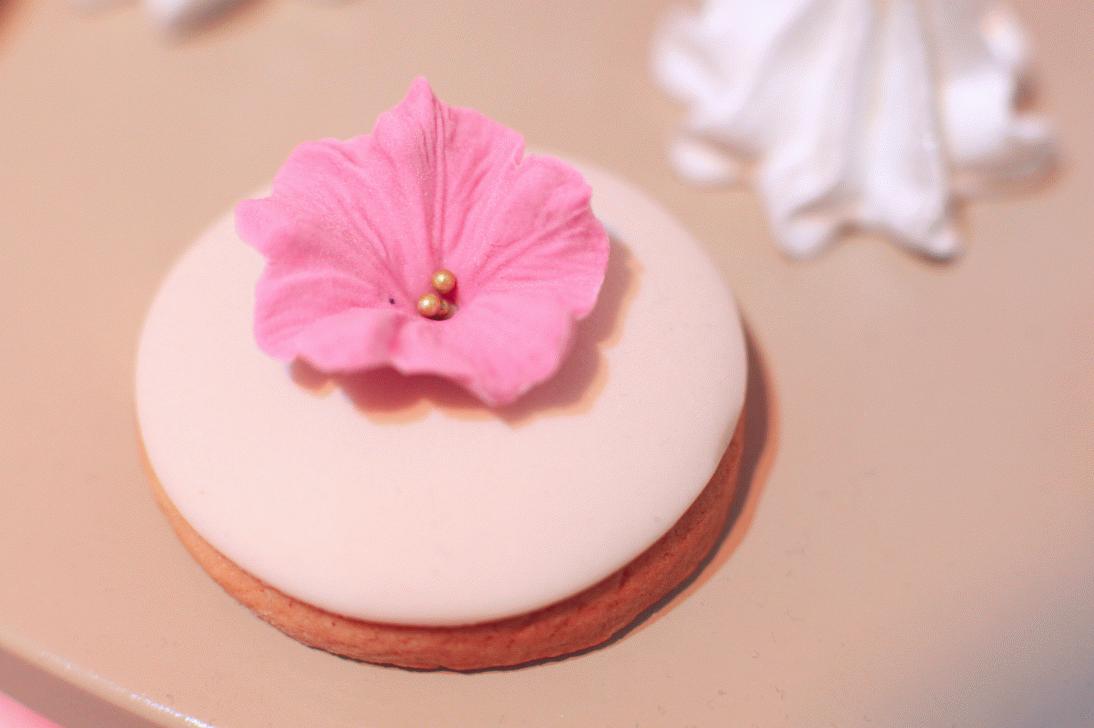 печенье с цветами