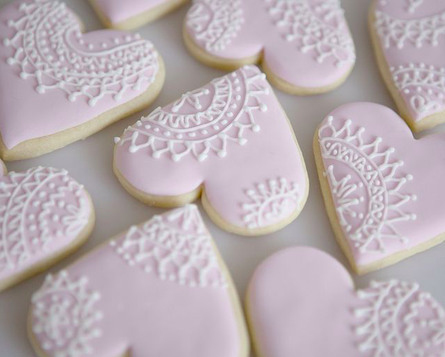 печенье на валентина