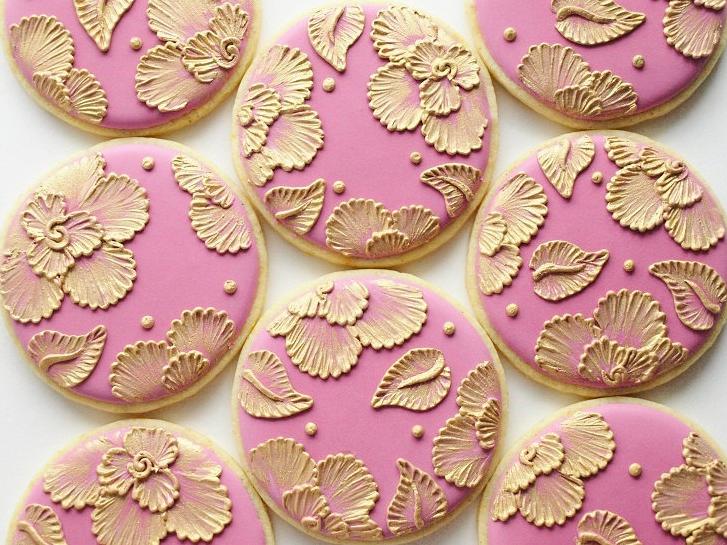 печенье с золотом