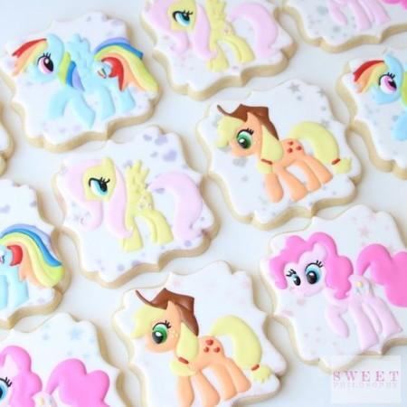 печенье пони