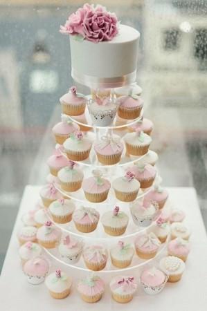 Капкейк свадебный