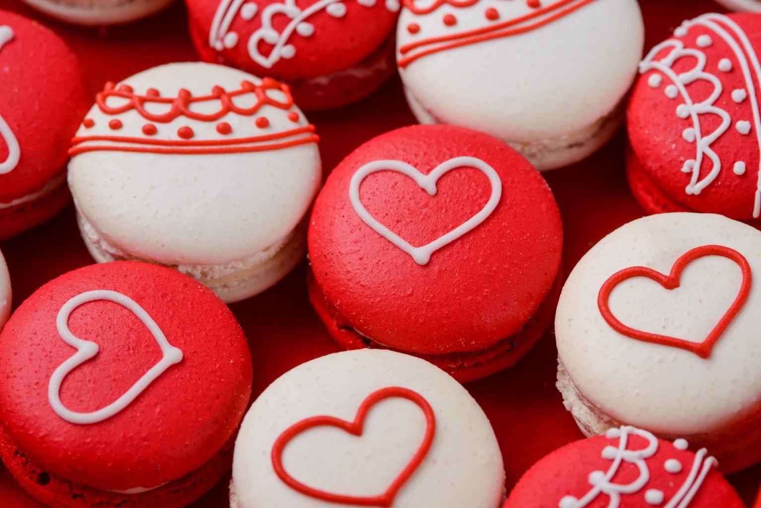 макарун на день валентина