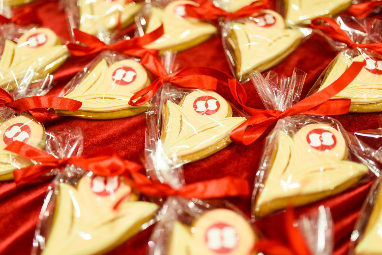 корпоративное печенье