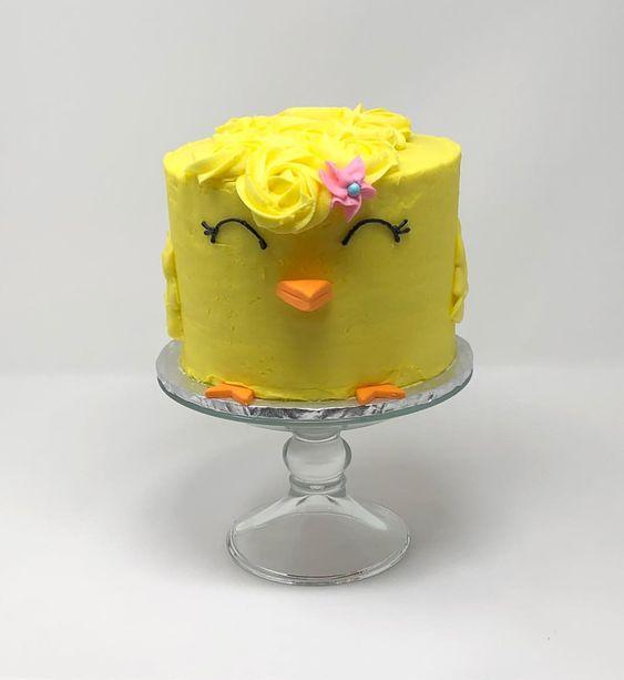 Детский торт цыпленок