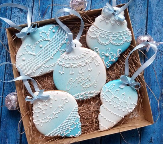 Имбирное печенье на Новый год