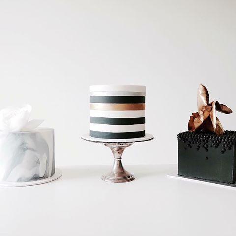 свадебный торт ретро