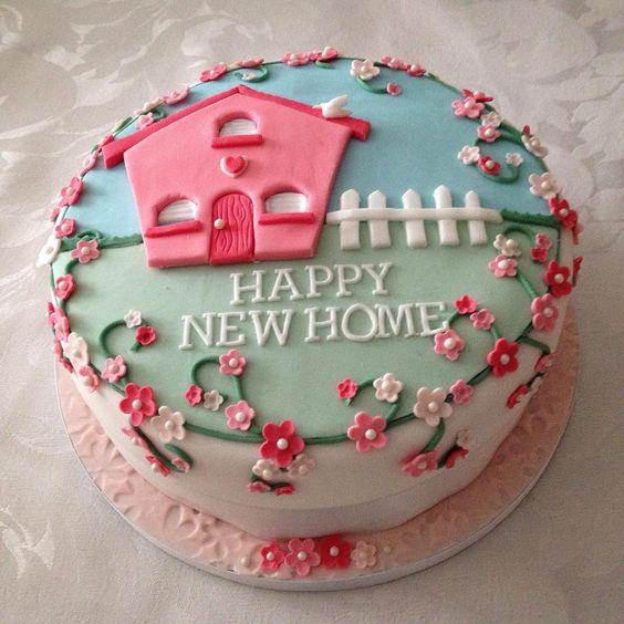 торт на новоселье
