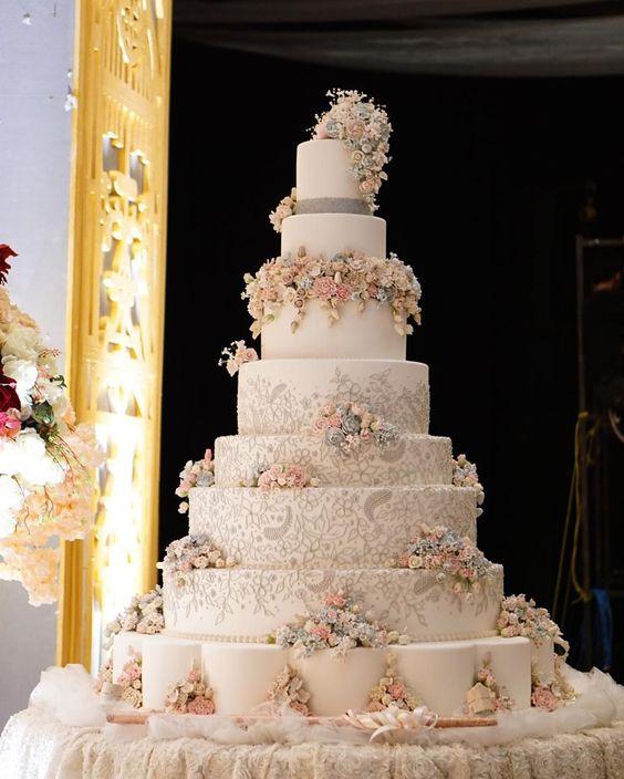 шикарні весільні торти