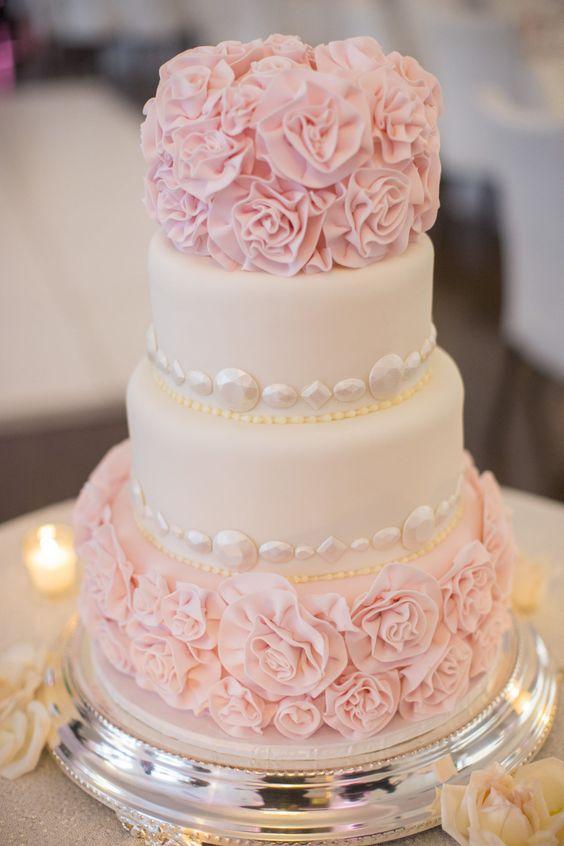 гламурный торт