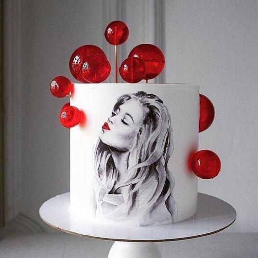 Торт на день народження сестрі