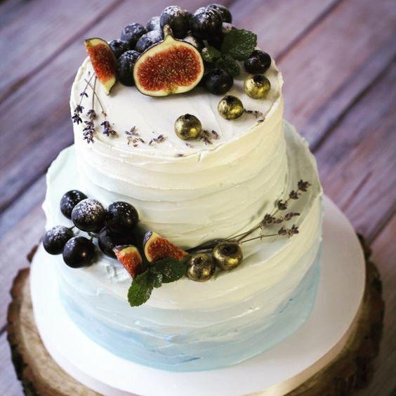 Двухярусные торты ко Дню рождения