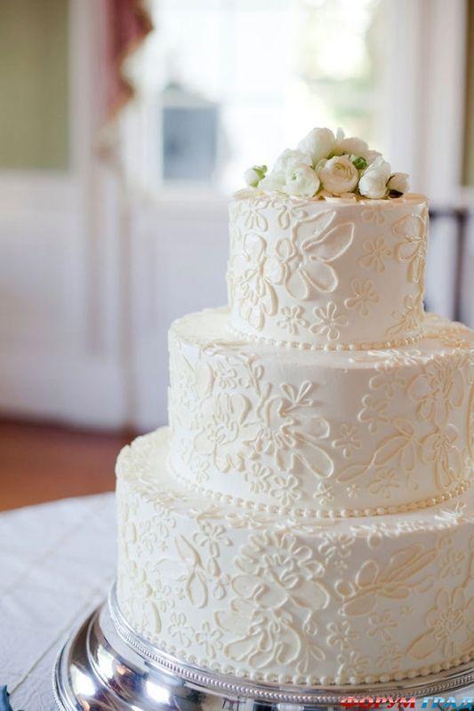 торт в марципане