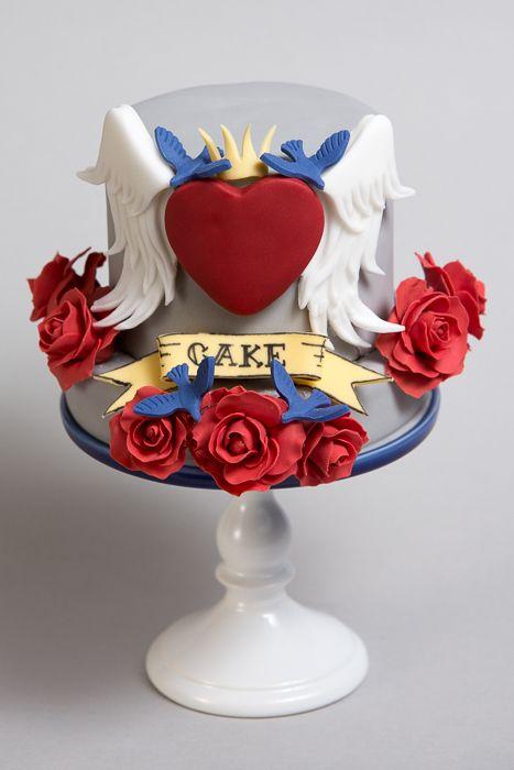 весільний торт в стилі стиляг