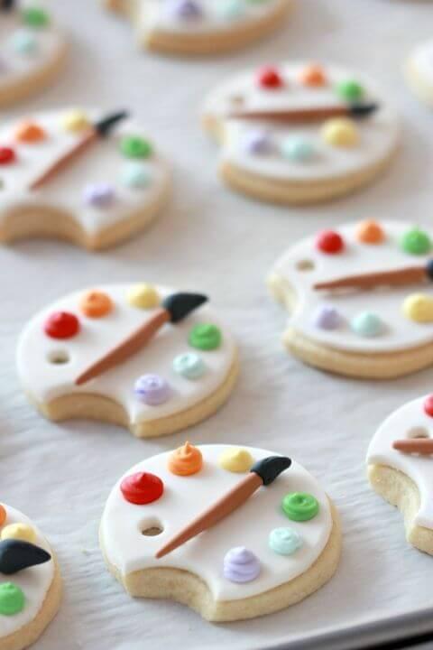 печенье палитра