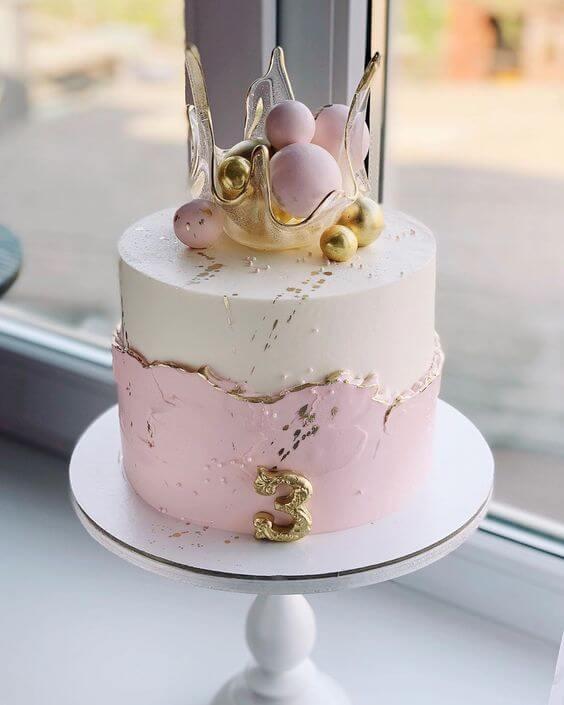 нюдовый торт