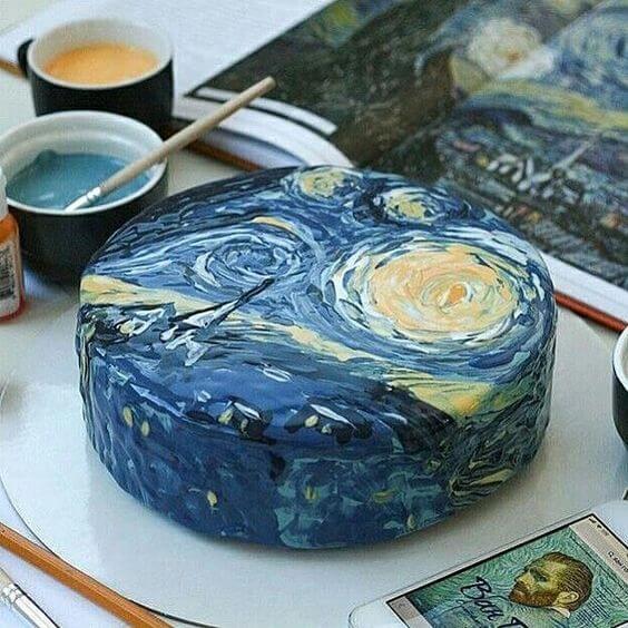 торт Ван Гог