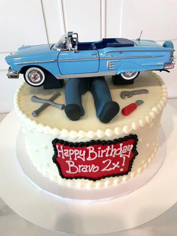 торт з машиною