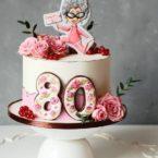 Що подарувати бабусі – торт від улюблених онуків