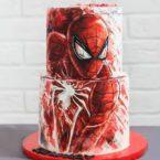 Подарок маленьким супергероям: торт Человек-Паук