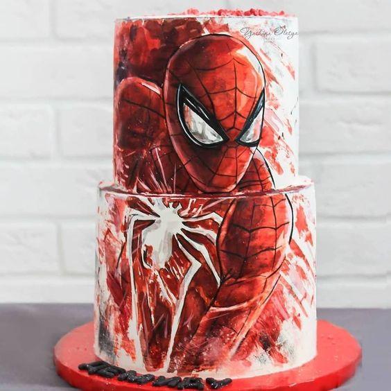 Торт Человек Паук в Киеве