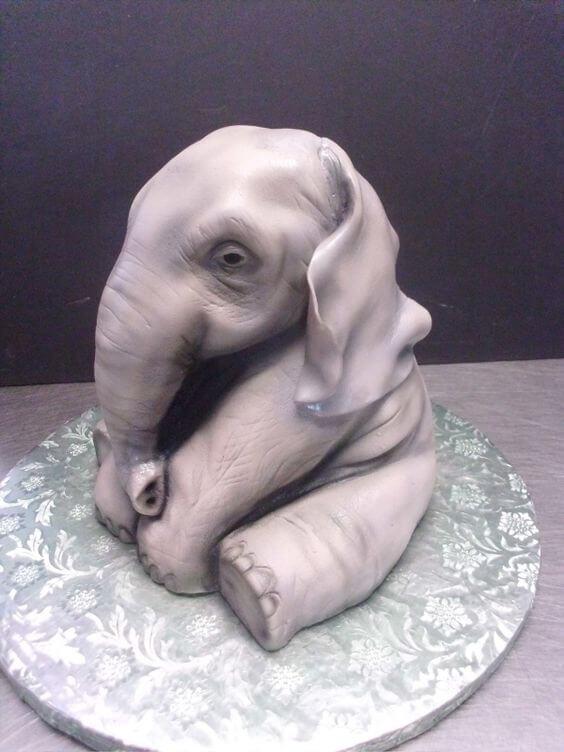 Торт в виде слона