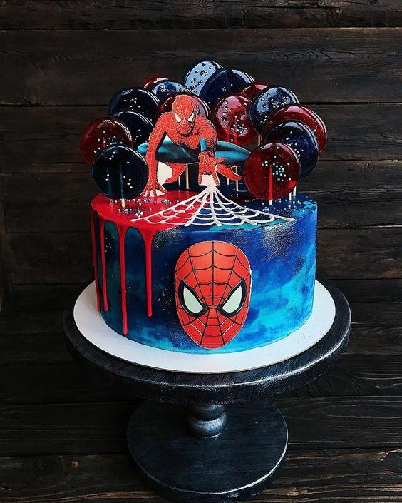 Заказать Торт Человек Паук