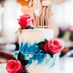 Украшаем торт в акварельной технике: 5 секретов