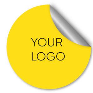 Наліпка з логотипом
