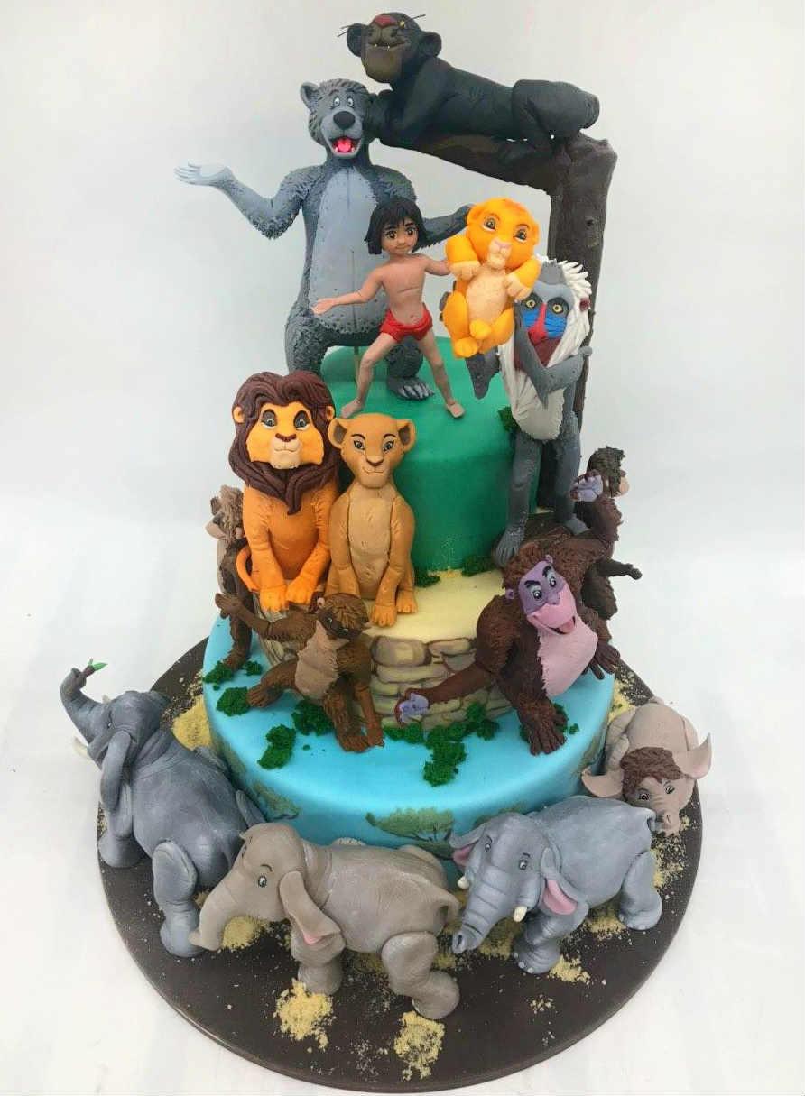 Детский торт Маугли заказать в Киеве