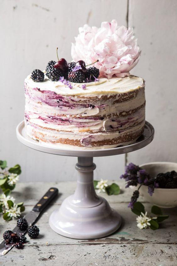 Лавандовый торт заказать