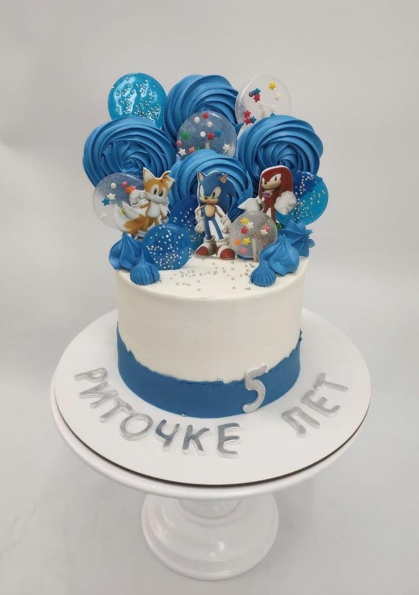 Заказать торт Соник в Киеве