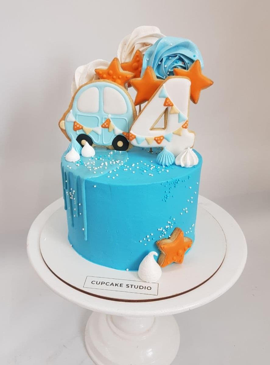 Торт на 4 годика заказать в Киеве