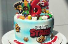 Торт бравл старс на день рождения