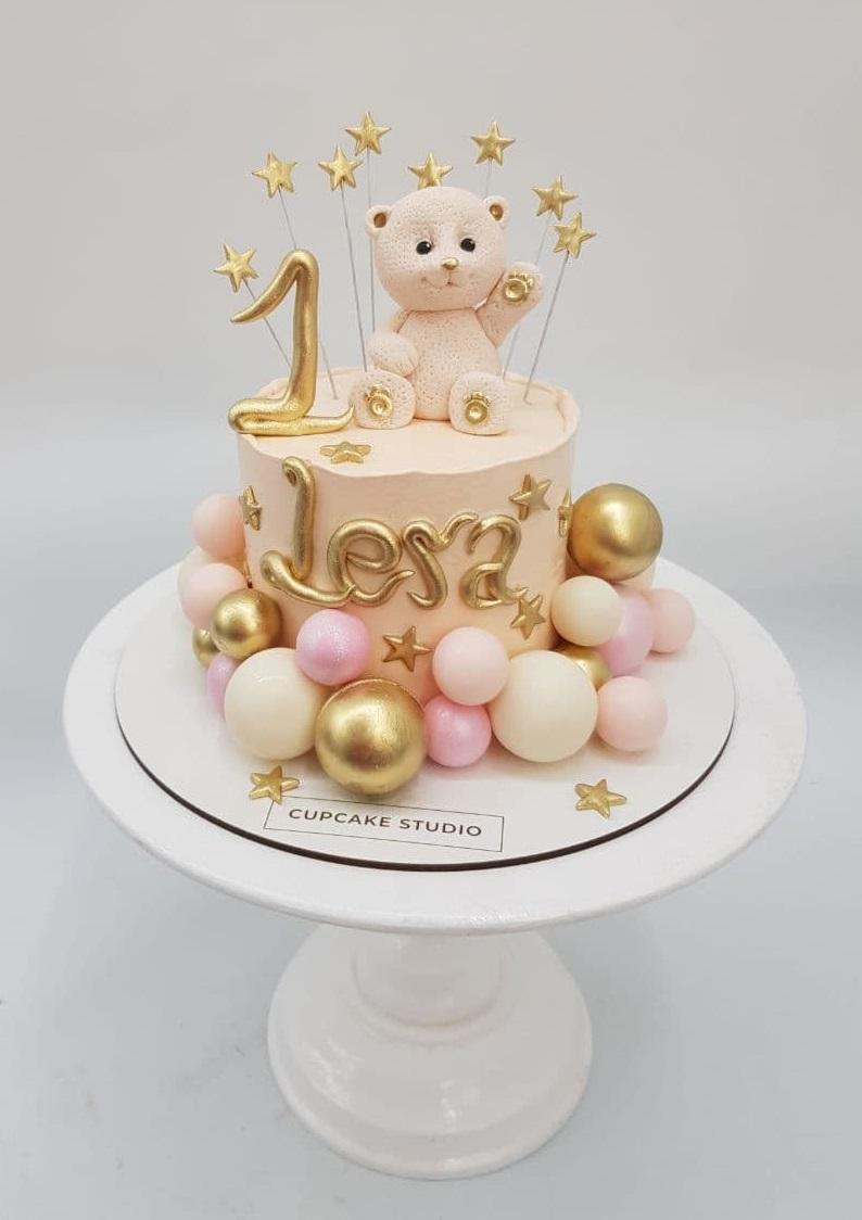 Торт на годик дочке