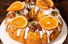 Рождественский кекс с апельсинами