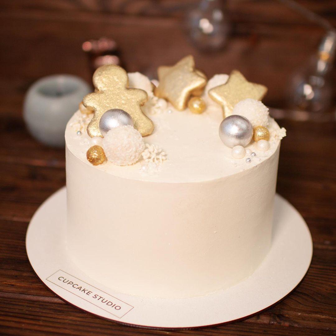 Торт медовый «Новогодний»