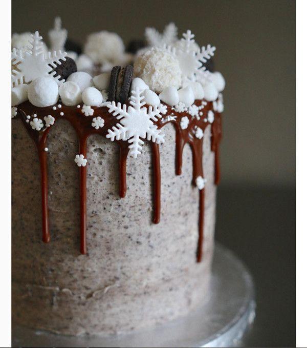 Торт Oreo на Новый год