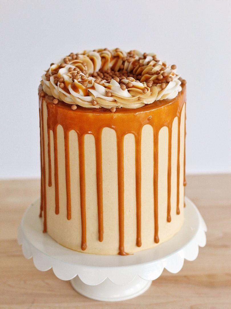Украшение карамельного торта