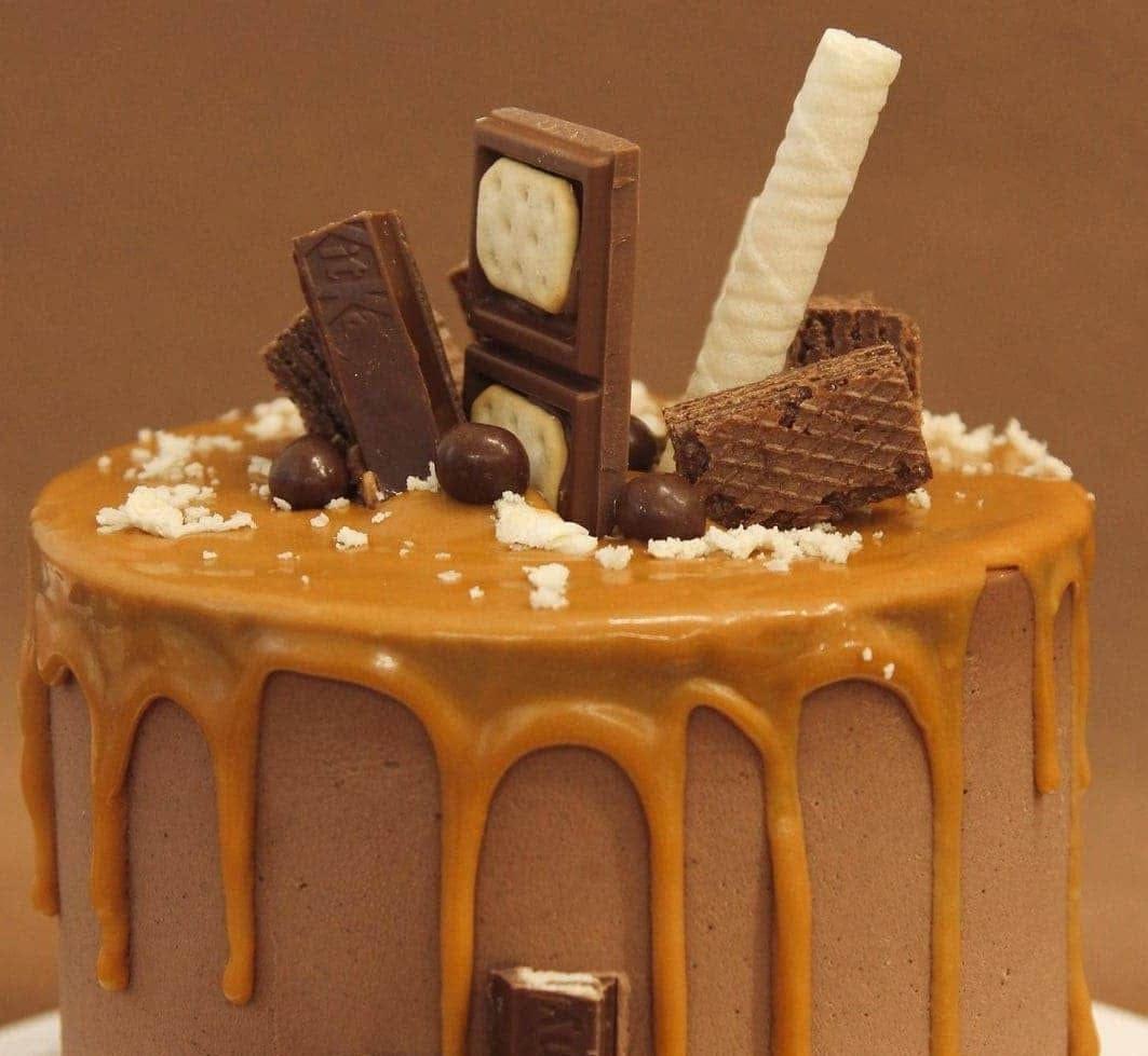 Карамельный торт Cupcake Studio