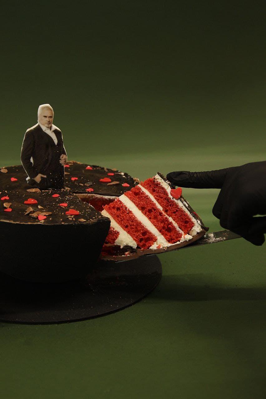 Торт з Торт з Валерієм Меладзе