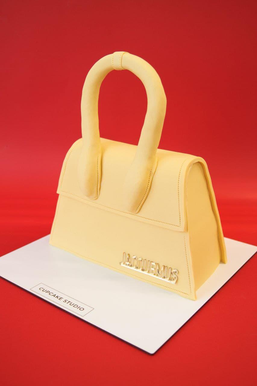 Торт в виде сумки