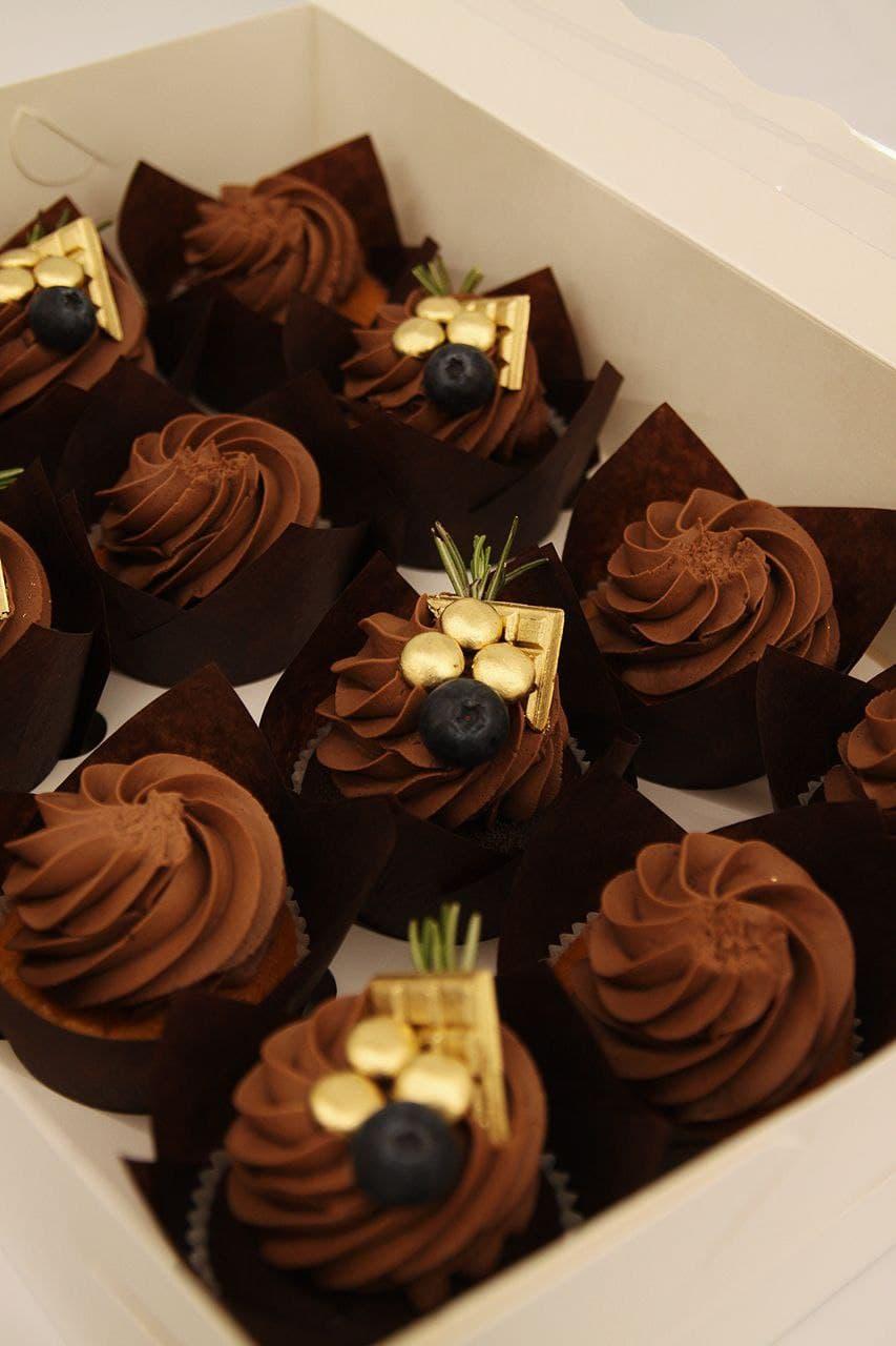 Капкейк с шоколадом