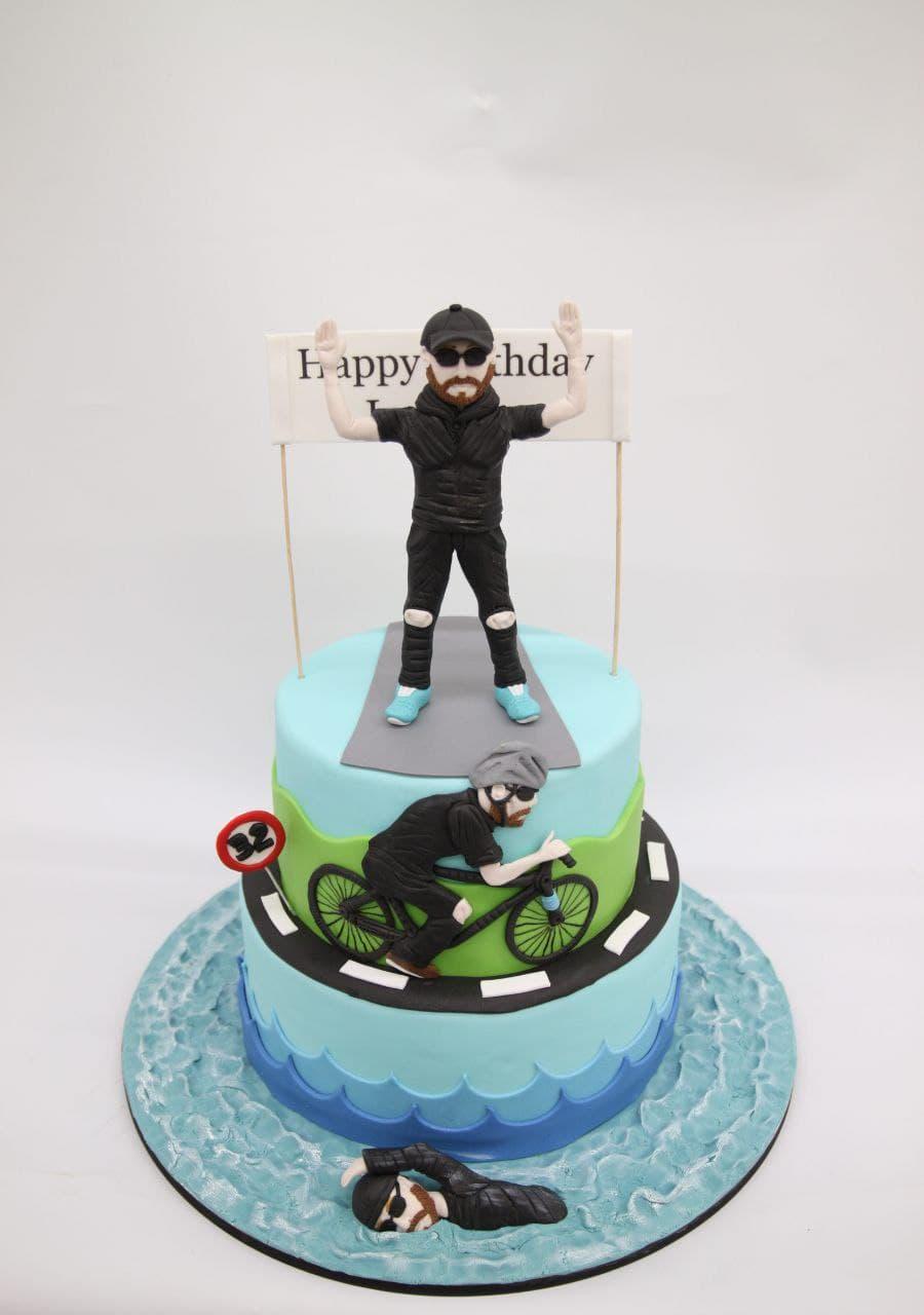 Торт для велосипедиста